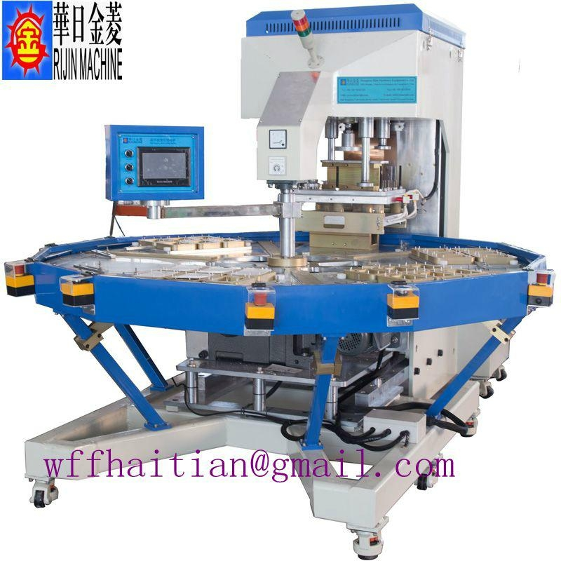 8kw Shuttle Tray High Frequency Welding Machine 3