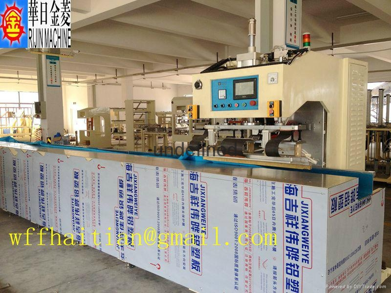 Automatic High Frequency PVC Welding Machine for Tarpaulin Canvas 1