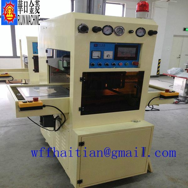 15kw High Frequency Welding and Cutting Machine for Shoe Upper or Cover 2