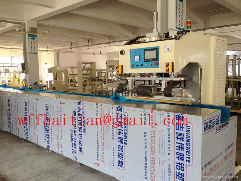 15kw Automatic Travelling HF Welding Machine for PVC Tarpaulin Canvas 1