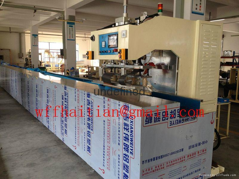15kw Automatic Travelling HF Welding Machine for PVC Tarpaulin Canvas 2