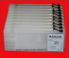 愛普生4900可填充墨盒含  芯片