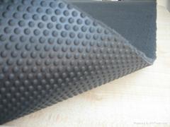 奥迪专用TPR簇绒脚垫地毯面料