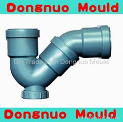 供应 塑料P型存水弯管件模具