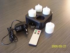 led 充電蠟燭燈