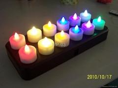 感应充电蜡烛灯