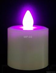 七彩遙控蠟燭燈