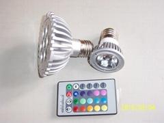 遥控led 灯泡