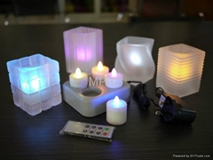 遥控充电led灯