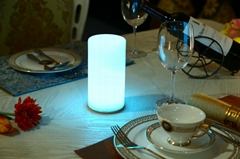 Modern led rechargeable table lamp