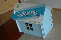 White Carton Board for Display