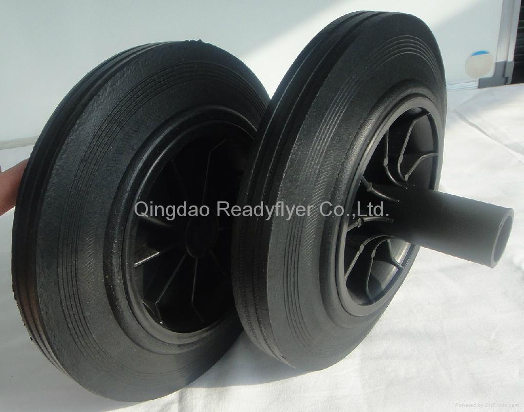 Wheelie bin wheel SR0819D 1