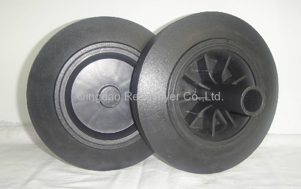 Wheelie bin wheel SR0822A 1