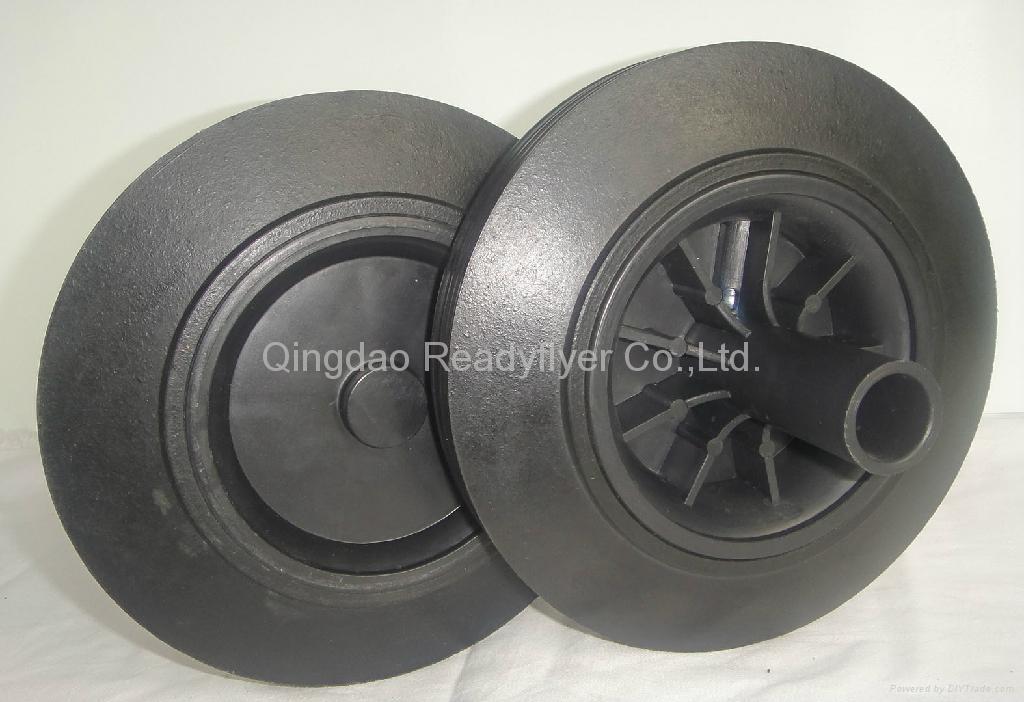 Wheelie bin wheel SR0822B 1