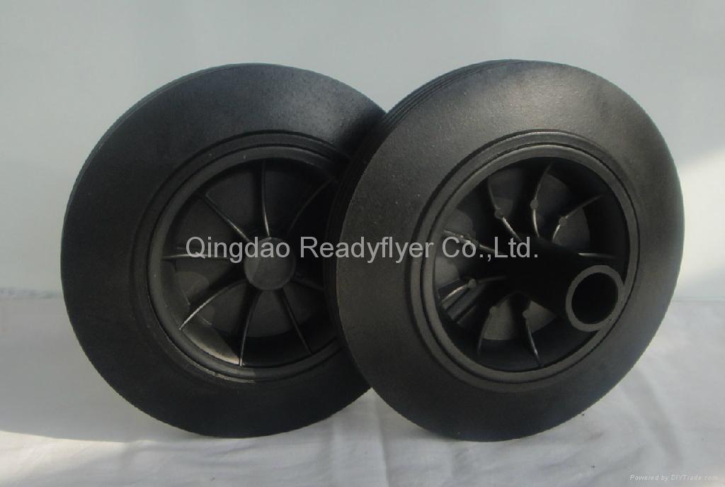 Wheelie bin wheel SR0822C 1