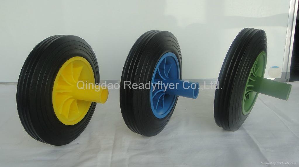 Wheelie bin wheel SR0815 1