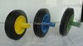 Wheelie bin wheel SR0815