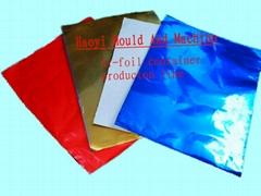 coating aluminum foil