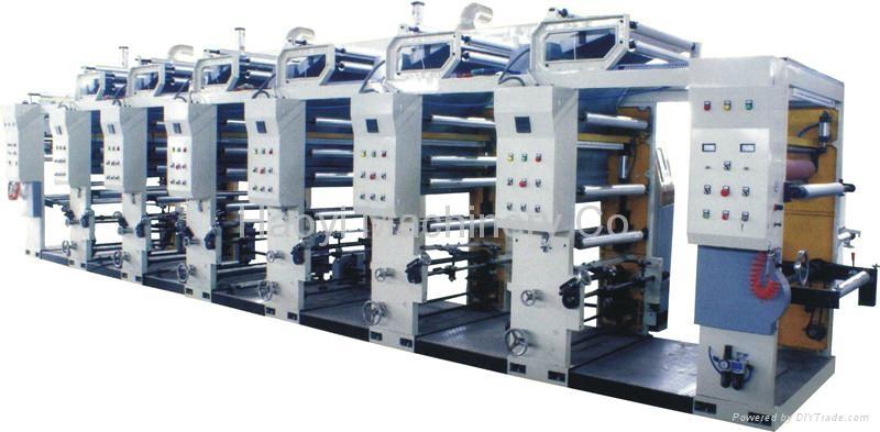 8 Colors Computerized Rotogravure Printing Machine 2