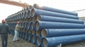 Cement lined Ductile Iron Pipes