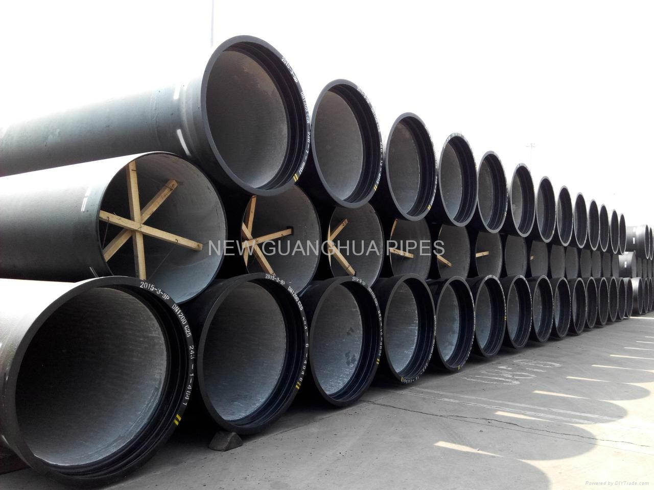 DN1400 Ductile Iron Pipes  1