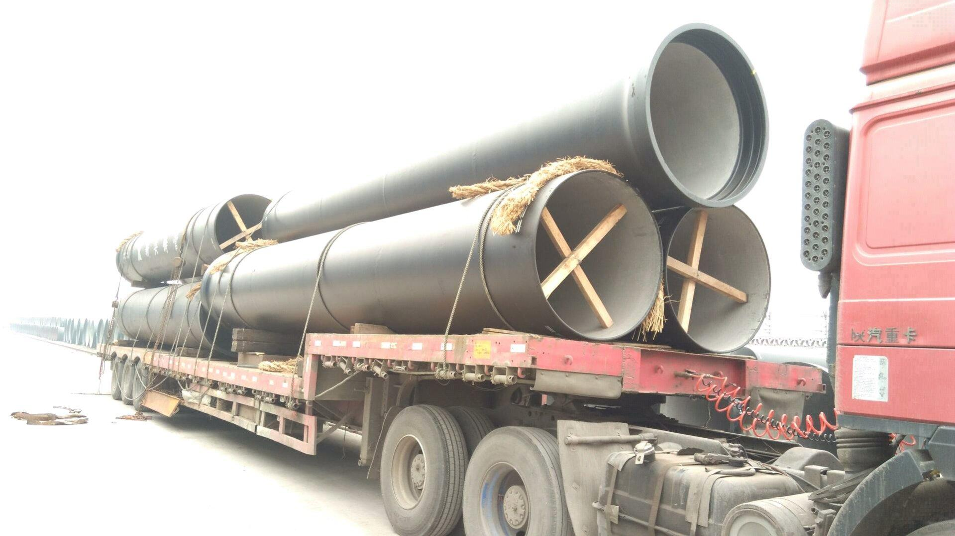 Dn ductile iron pipes iso guanghua cast pipe