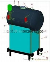 热管式余热蒸汽发生器