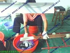 銅排刷鍍錫機50S常溫高速光亮錫 買刷鍍錫溶液送刷鍍錫設備