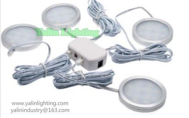 12V ultrathin LED caravan cabinet lamp kit 4