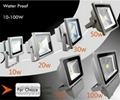 10W 20W 30W 50W 100W exterior garden IP65 LED floodlight