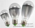 E27 B22 3W 5W 7W 9W LED bulb light
