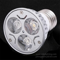 3W E27 GU10 LED spot lamp cup