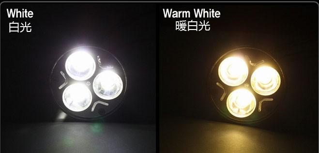 3W E27 GU10 LED spot lamp cup 3