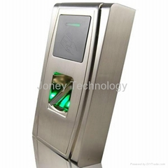 Metal vandalproof biometric fingerprint reader for access control