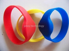 RFID silicagel/silicon wristband card