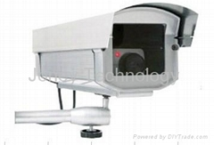 Dummy security camera with LED IR flashing ;outdoor dummy /Fake camera