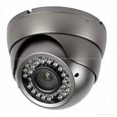 CCTV IR vandalproof dome camera