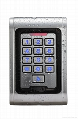 RFID standalone access control with metal waterproof