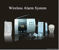Intelligent voice burglarproof alarm system 68 zones