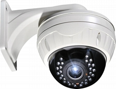 cctv camera with bracket and vari-focal lens
