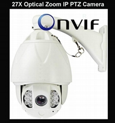 ptz ip camera 27/30x zoom 150 meters IR