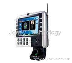 8 inch TFT fingerprint time attendance terminal