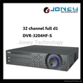 realtime full channel d1 dvr recorder