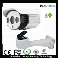 network ip camera support alarm and TF card memory