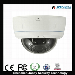 vandal proof IR dome ip camera