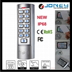 New Silver Metal Standalone Access Control Keypad