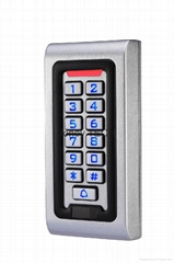 Metal Access Control Keypad with Digital Backlight