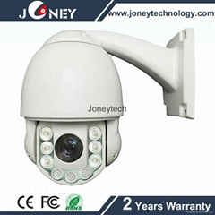 Mini size 4inch Low illumination 10x optical zoom PTZ IP camera for indoor/outdo