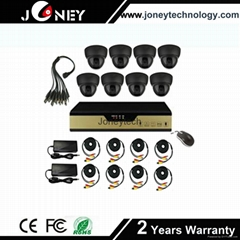 700TVL Plastic Dome 8ch dvr analog kits