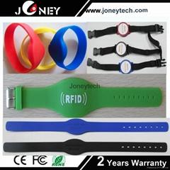 silicagel/silicon wristband rfid tag
